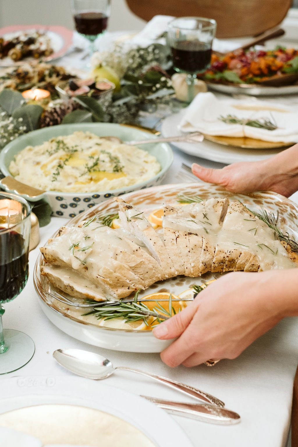 All of the recipes you need for an epic, delicious Thanksgiving! These healthy Thanksgiving recipes are unique twists on the traditional ones that you know and love. From appetizers and mains to amazing side dishes and desserts, these recipes will be your new favorites to share with family & friends.