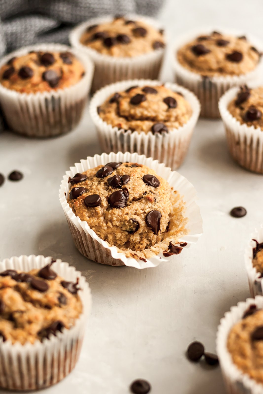 Banana chocolate chip muffins recipe 2 bananas