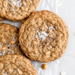 Salted Brown Butter Butterscotch Oatmeal Cookies