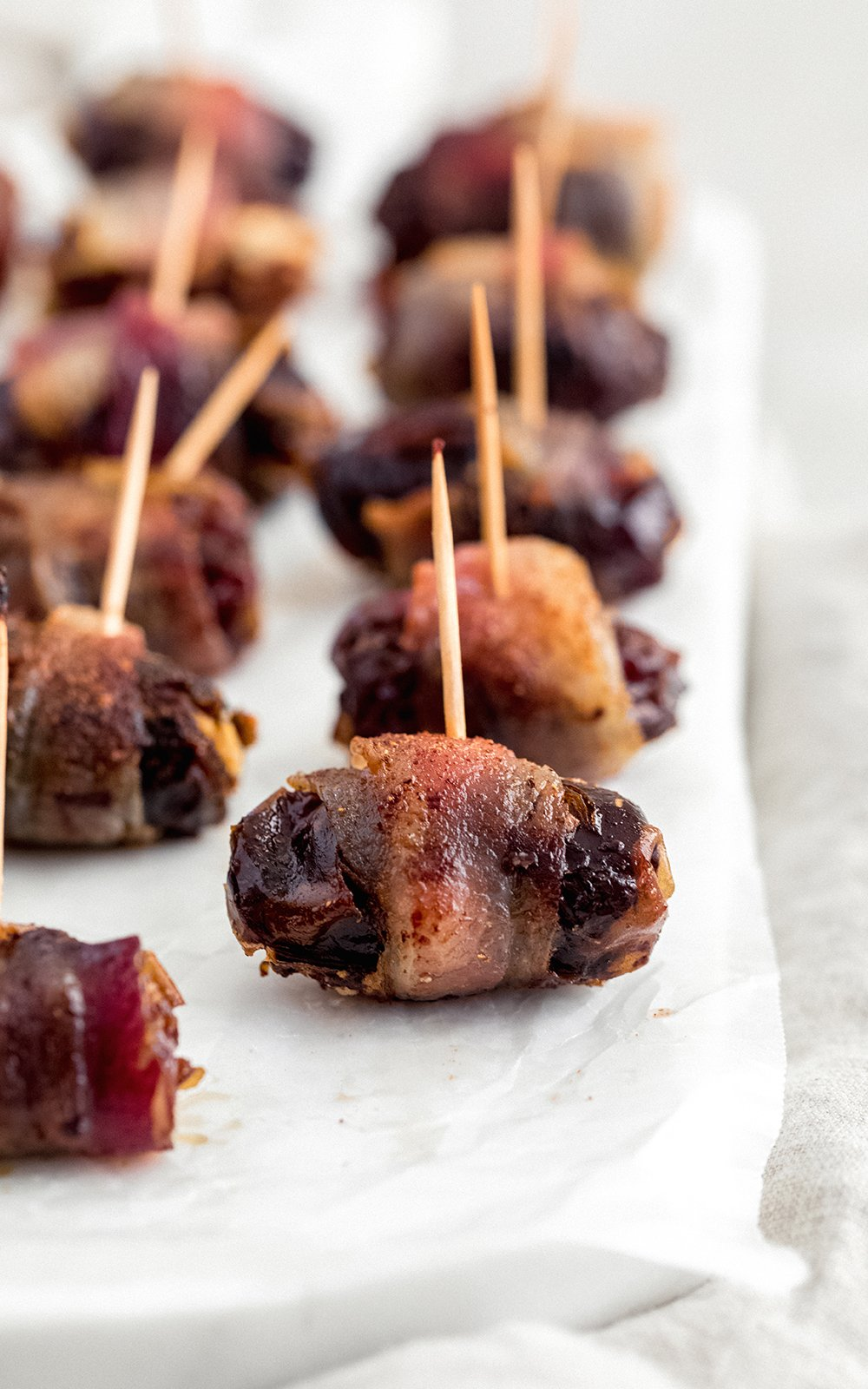 top 25 favorite recipes: bacon wrapped goat cheese stuffed dates