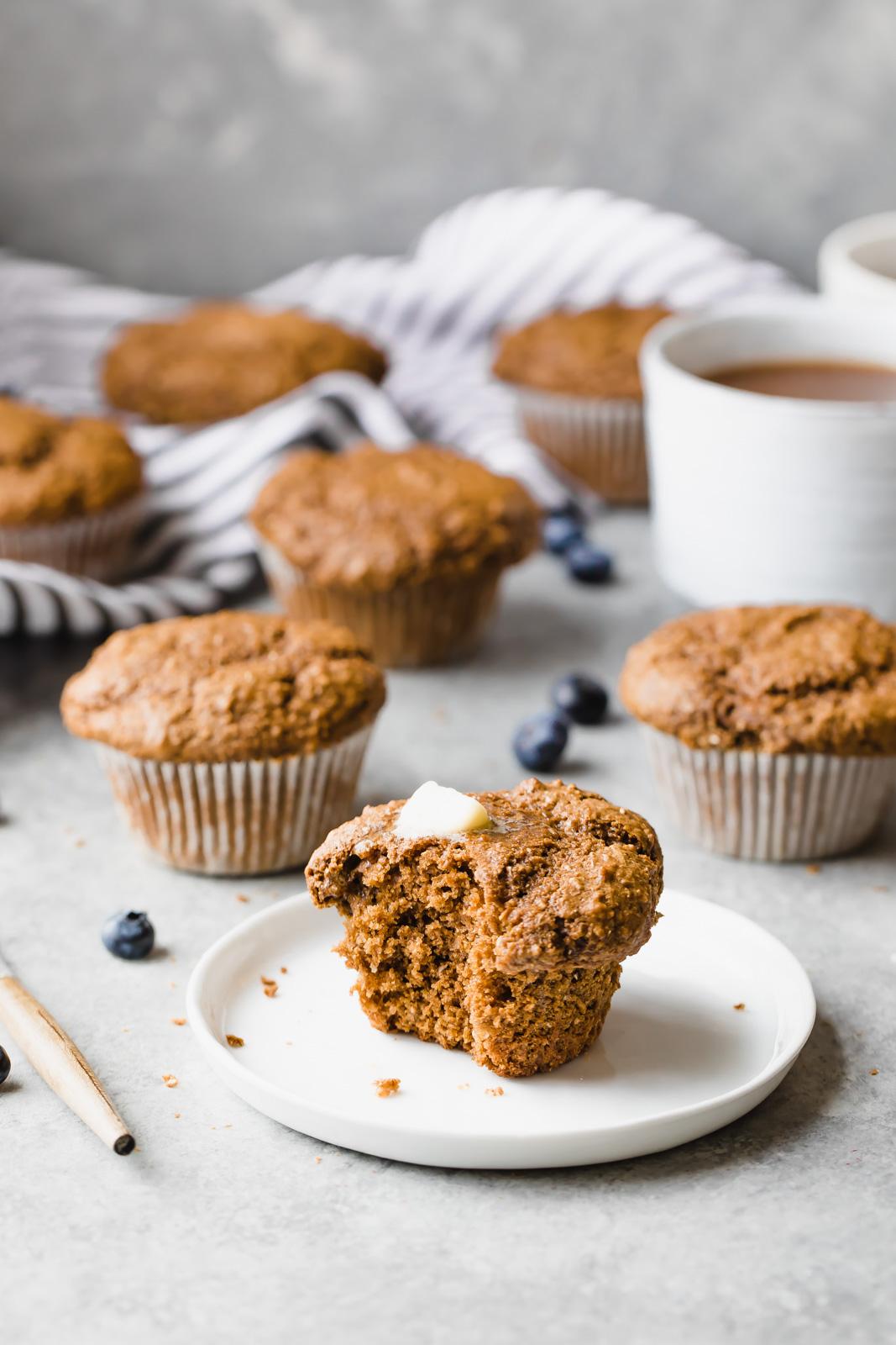 make-ahead breakfast recipes: bran muffins