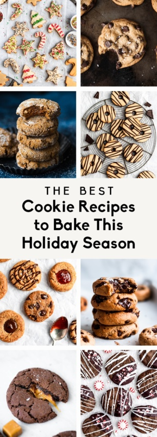 collage of the best cookie recipes to bake this holiday season