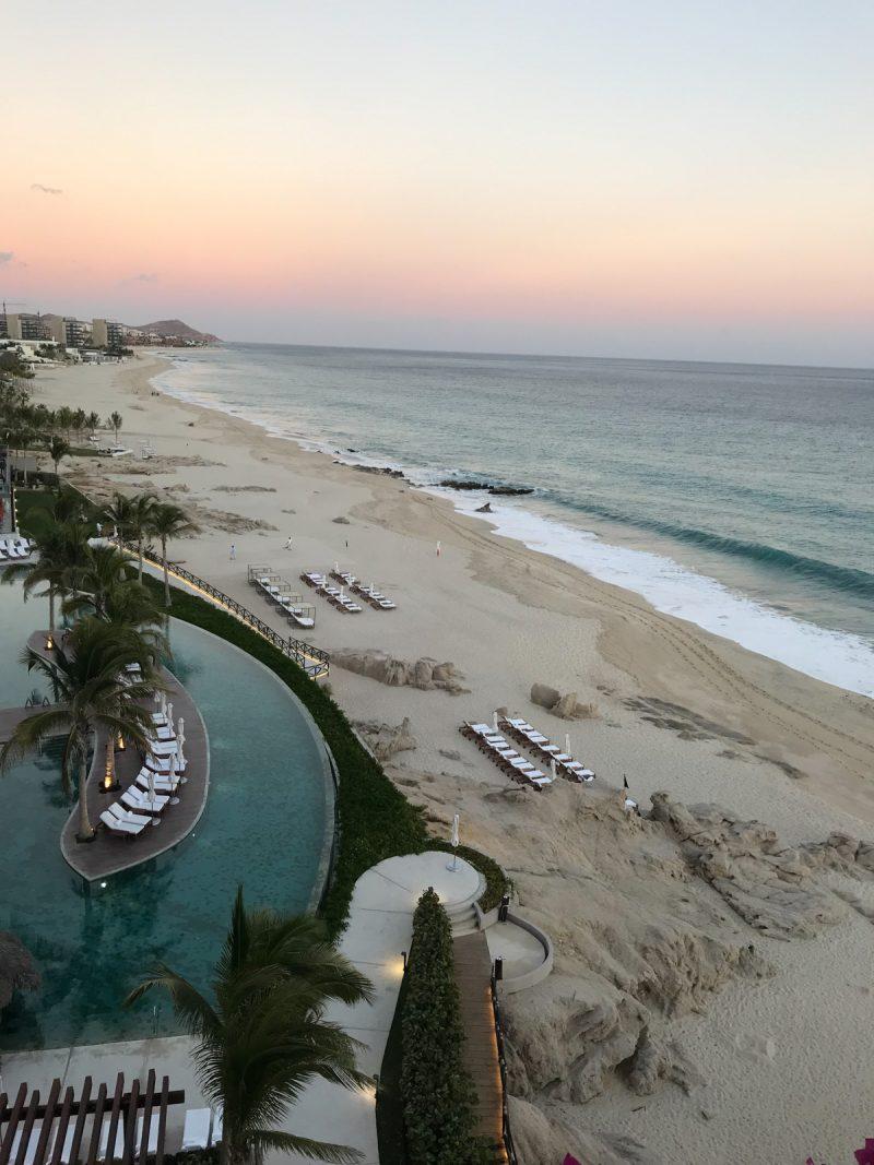 view of a resort beach