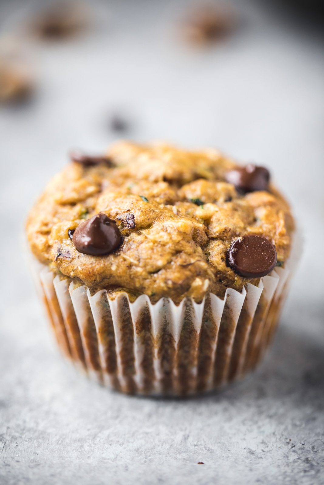 top 25 favorite recipes: zucchini banana muffin with chocolate chips