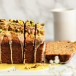 photo of orange yogurt bread