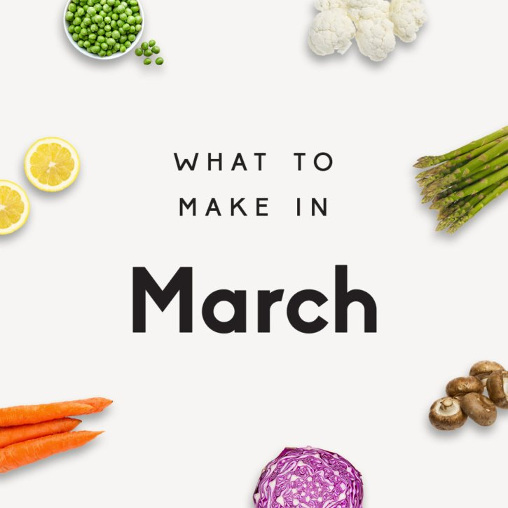 31 delicious, healthy recipes to make in March! Get ready for spring with these incredible, seasonal recipes for any meal of the day.