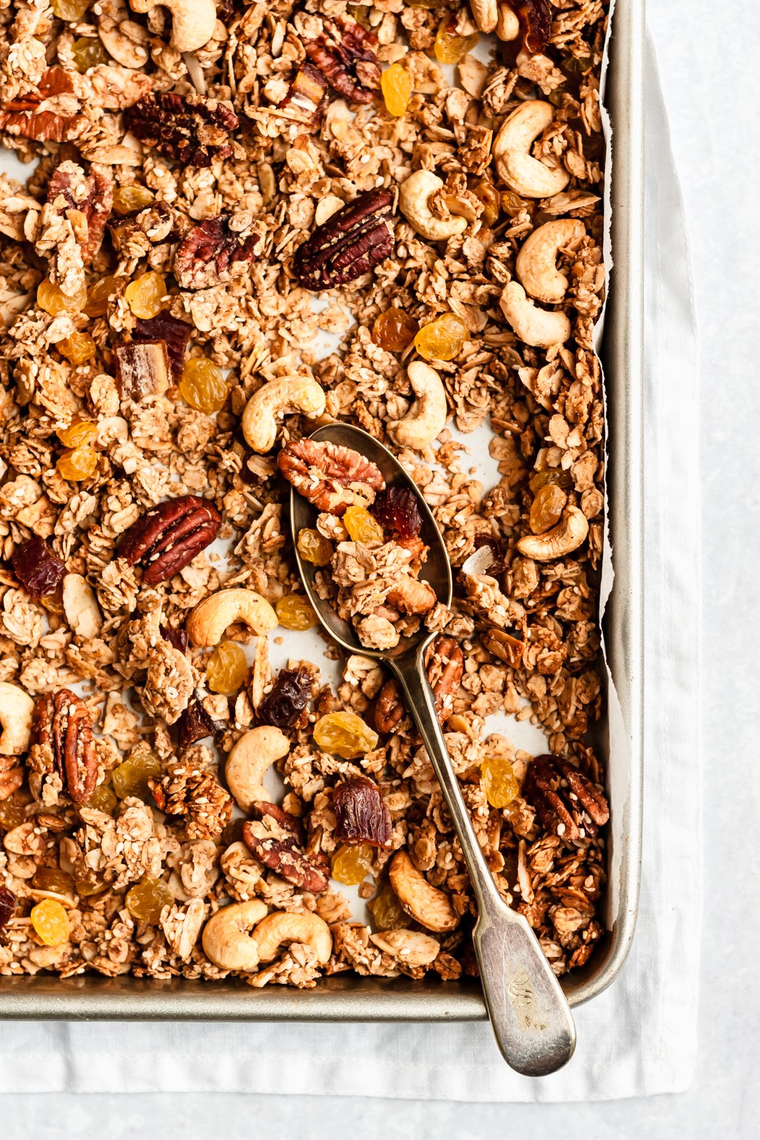 Healthy Granola Recipe (vegan & gluten