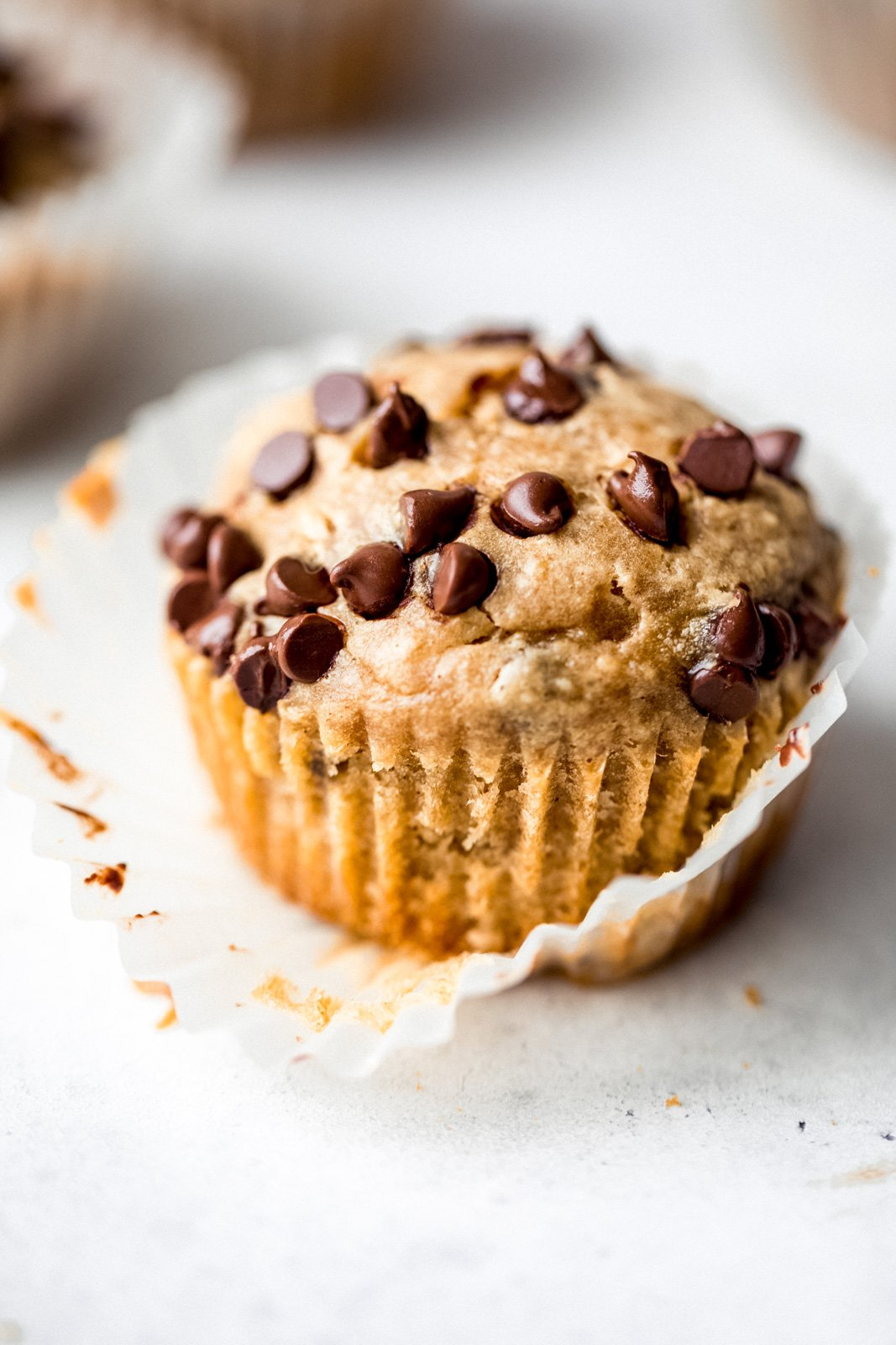 Healthy Peanut Butter Banana Muffins Ambitious Kitchen