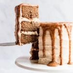 gluten free zucchini sweet potato cake