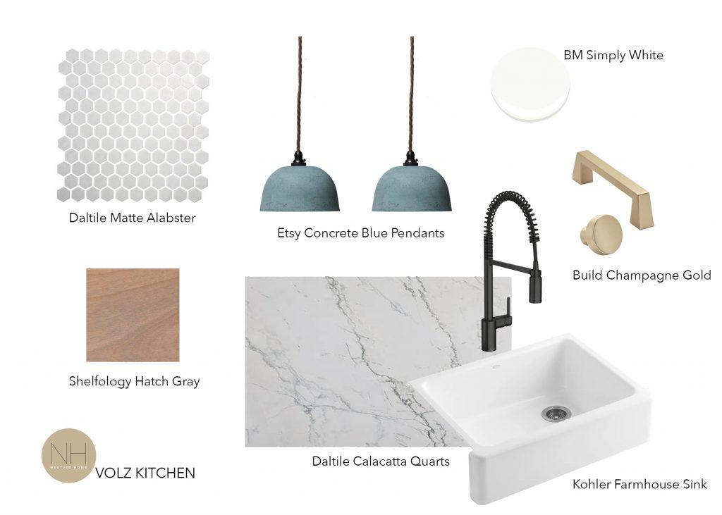 parts of a kitchen design