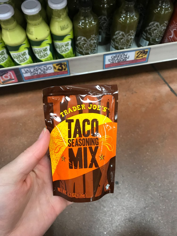 packet of taco seasoning