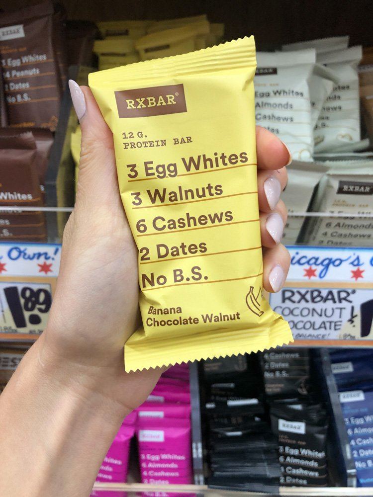 banana chocolate walnut rxbar