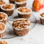 Almond Butter Apple Cinnamon Baked Oatmeal Cups