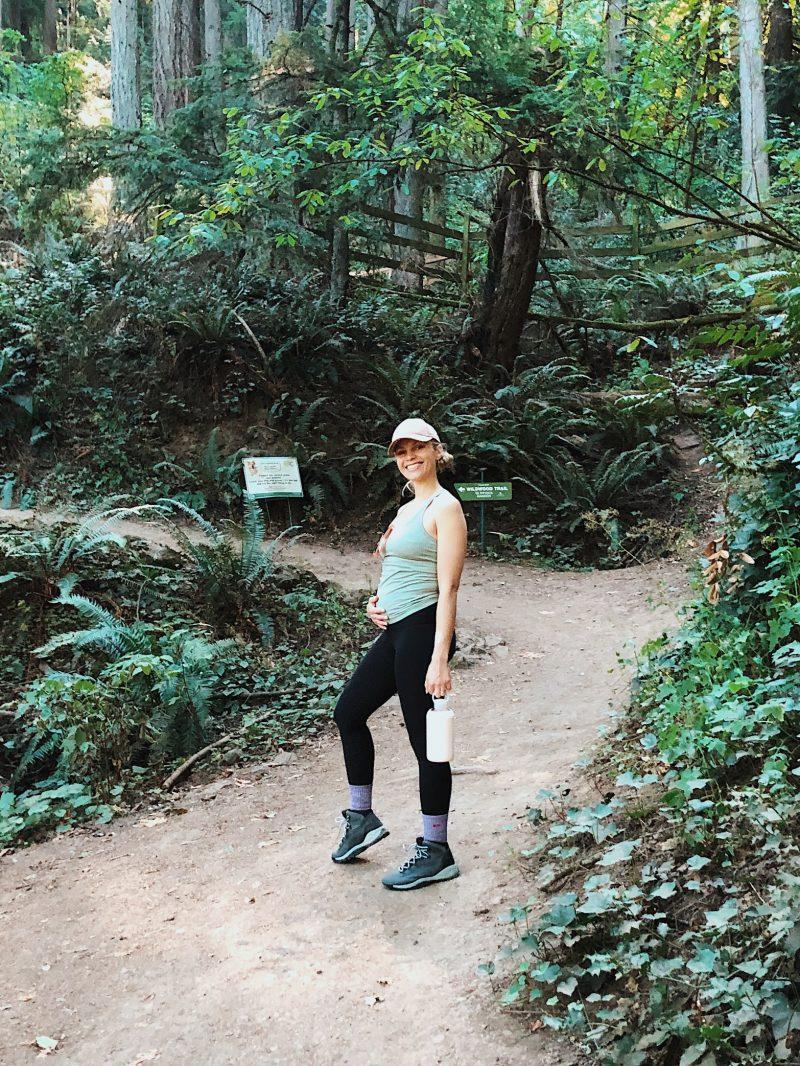 monique on a hiking trail