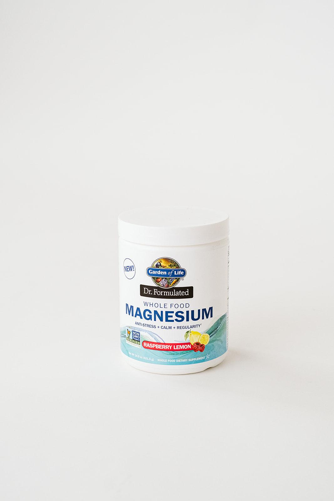 garden of life magnesium