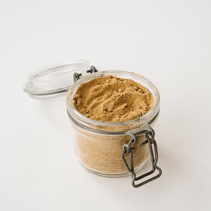 paleo powdered sugar in a a jar