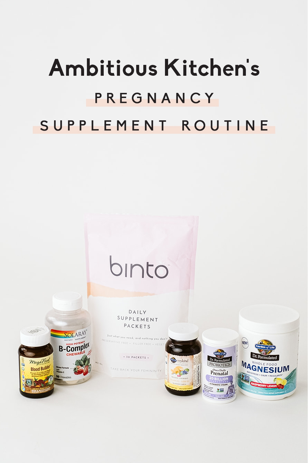 pregnancy supplements
