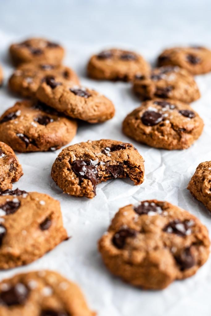 the best lactation cookies on parchment paper