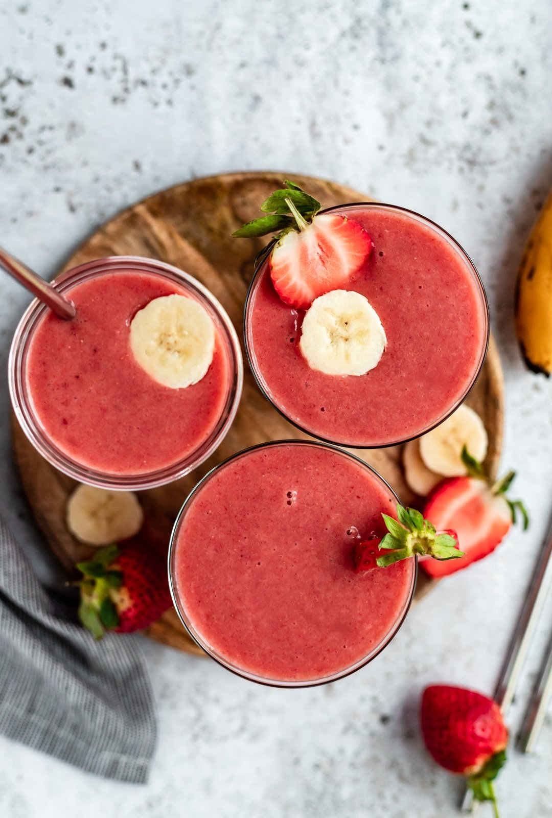 Vitamin C Strawberry Orange Banana Smoothie Ambitious Kitchen