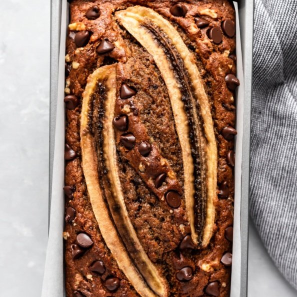 Best Ever Healthy Banana Bread Recipe Ambitious Kitchen