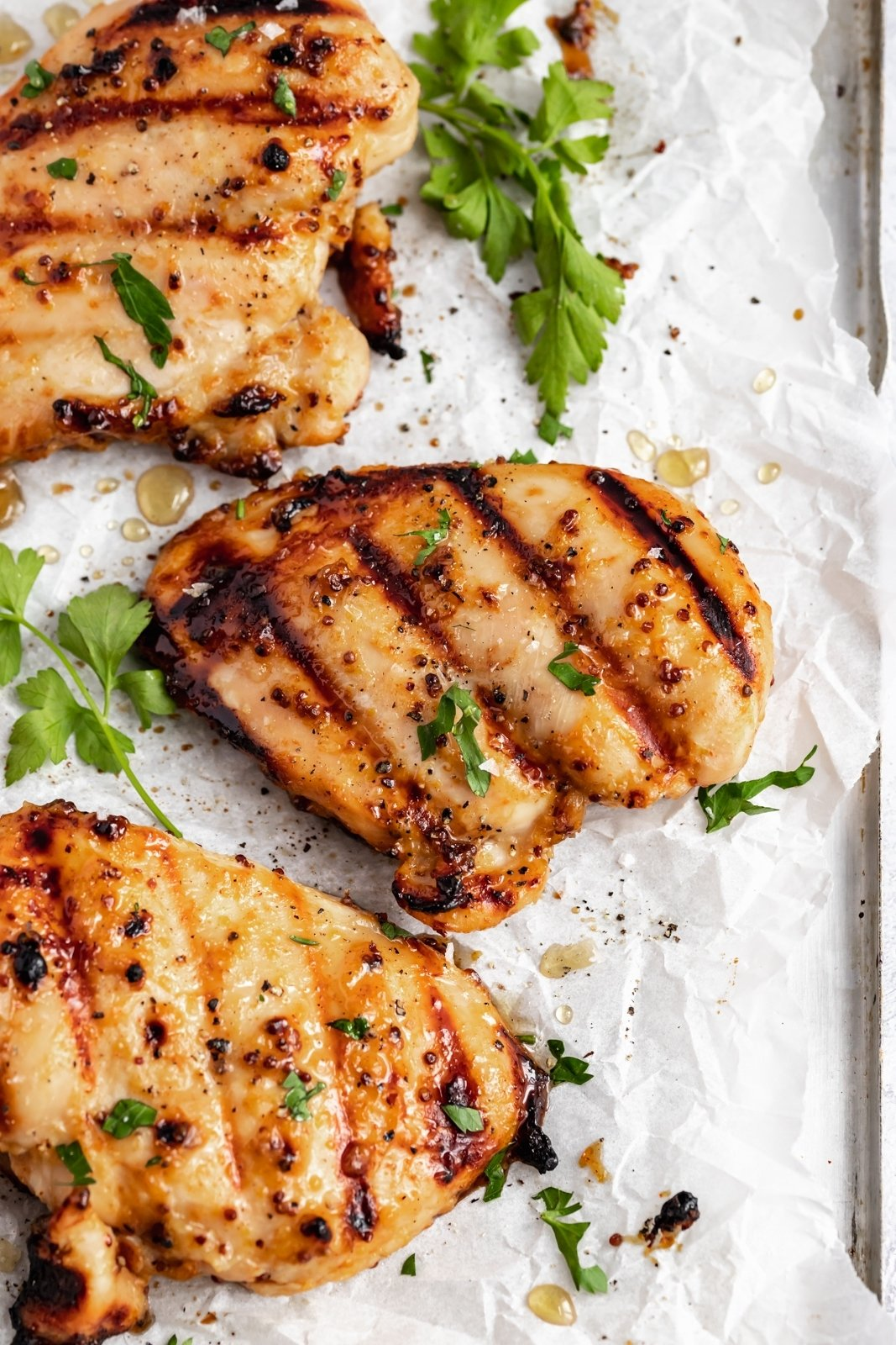 Honey Mustard Chicken Baked Or Grilled Ambitious Kitchen