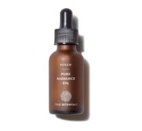 brown bottle of face serum