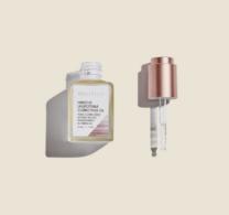 bottle of facial oil
