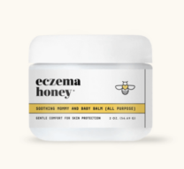 jar of eczema honey