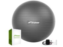 grey exercise ball
