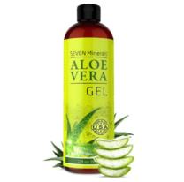 bottle of aloe vera