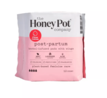 post partum pads package