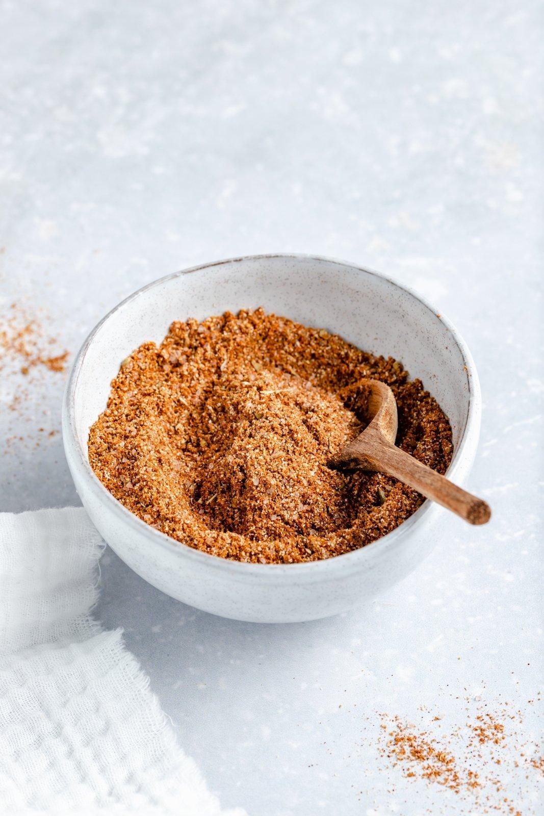 easy sazon seasoning in a small bowl