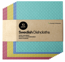 reusable dish clothes in multicolor