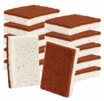 stacks of sponges