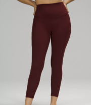 maroon leggings