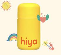 yellow bottle of vitamins
